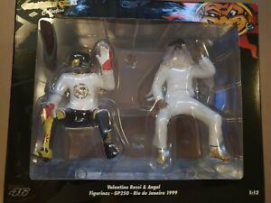 Valentino Rossi & Angel Minichamps Figurines 1:12 Scale GP250 Rio 1999