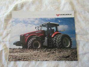 Versatile 310 MFWD tractor brochure