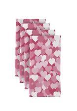 "Pink Heartbeats 18"" x 18"" Napkins 1 Dozen"
