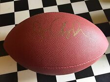 Dave Chappelle authentic signed autographed full size inscribed football Coa