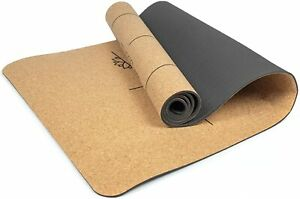 Eco Friendly Cork Great Grip Yoga Mat 205 x 70cm, 6mm Thickness - FAST DELIVERY