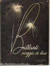 CALDERONI CATALOGO 1939 – 1940 – GIOIELLI DIAMANTI OROLOGI ROLEX LONGINES OMEGA