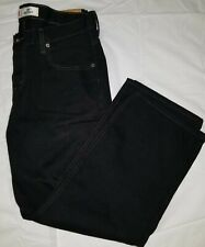 Mens Levi Strauss 550 Relaxed Fit Tapered Leg Jeans Size 33X28 Black Denim