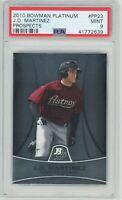 2010 Bowman Platinum Prospects #PP23 J.D. MARTINEZ RC (Astros) (Red Sox) PSA 9
