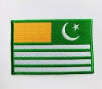 Kashmir Flag Embroidered Iron On Sew On Patch Badge For Clothes Jacket etc