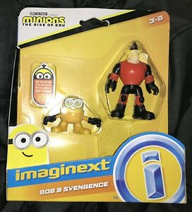 Imaginext The Rise Of Gru Minions Bob And Svengence Figures