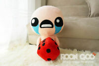 The Binding of Isaac Soft Plush Toy ISSAC with Dice Doll 35cm Lovely Cool Gift