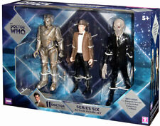 Doctor Who - 11th Dr Series 6 - 3 Figure Set - BNIB - Silent, Cyber, 11th - MINT