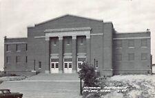 Real Photo Postcard Memorial Auditorium in McCook, Nebraska~130908