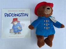 Kohl's Cares Paddington Stuffed Animal Bear And Illustrated Book New With Tag