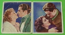 Cigarette Card Godfrey Phillips Ltd Famous Love Scenes 1939 60x53mm VGC 76