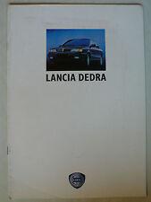 Prospekt Lancia Dedra zur Premiere, ca.1989, 8 Seiten