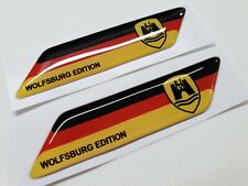 VW Transporter T4 T5 T6 Beetle Golf GTi 70mm exterior Badges x2 Decals Stickers