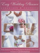 NEW Easy Wedding Planner Organizer & Keepsake by Elizabeth Lluch Spiral Book (En