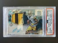 2017 Panini Spectra #225. Juju Smith Schuster Rookie Card. #32/75. Signed. Patch