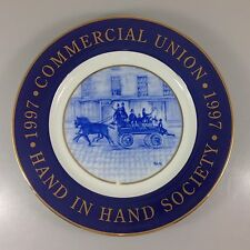Tiffany Commercial Union Hand in Hand Society Plate 1997 Commemorative