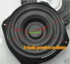 "2pcs 5"" inch Bass Passive radiator consonant speaker"