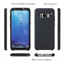 Samsung Galaxy S8 case, ZS-TP Soft Liquid Silicone Rubber Gel Bumper Case, Durab