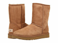 Women UGG Classic Short II Boot 1016223 Chestnut Twinface 100% Authentic New