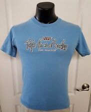Vans Triple Crown of Surfing 2006 North Shore Hawaii Blue T Shirt Small Rare