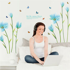 USA Removable Flower Home Living Room Mural Decor Vinyl Decal DIY Wall Stickers