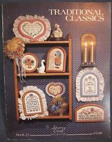 Stoney Creek Book 23 TRADITIONAL CLASSICS Counted Cross Stitch Pattern Coll 1986