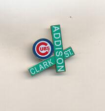 Chicago Cubs Corner Of Clark & Addison MLB Baseball Pin