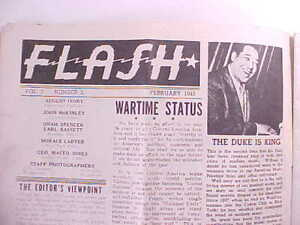1945 FLASH MAGAZINE REGAL THEATER CHICAGO 102 PHOTOS BLACK PERFORMERS & ADS