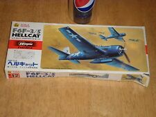 WW#2, USA, F6F-3/5 HELLCAT,US Navy Fighter Plane, Plastic Model Kit, Scale: 1/72