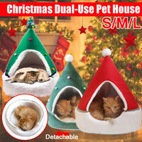 Pet Dog Cat Bed Puppy Cushion House Soft Warm Kennel Mat Pad Blanket  * -