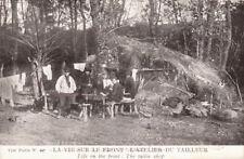 CPA GUERRE 14-18 WW1 la vie sur le front atelier du tailleur