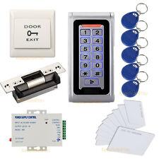 Waterproof Metal Case RFID Reader Keypad Access Control Systems ANSI Strike Lock
