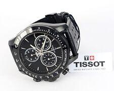 T1064173605100 Tissot V8 Men's Watch Black Dial, 42.5mm Black PVD Case