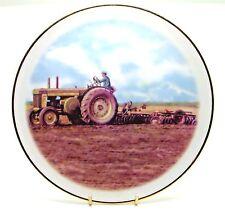 ~~~ John Deere 820/30 Model D ~ Porcelain Tractor Plate