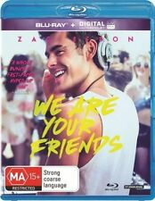 We Are Your Friends (Blu-ray, 2015) New, ExRetail Stock (D146)