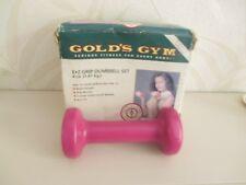 GOLDS GYM GRIP DUMBBELL SET FOR WOMEN