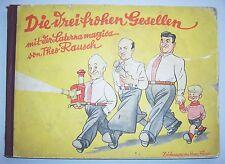 Les trois joyeuse clique avec la lanterne Magica de theo de bruit pour 1935!