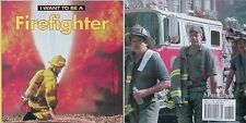 FIREFIGHTERS, 2008 KIDS BOOK (NEW YORK FIRE DEPARTMENT BACK COVER) COLOR PHOTOS