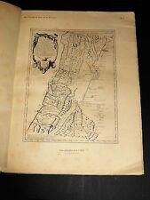 CHARLES-ROUX Echelles Syrie et Palestine au XVIIIe siècle 27 PLANCHES ET CARTES