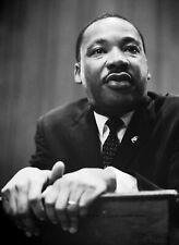 Martin Luther King Jr PHOTO Segregation Black Civil Rights MLK Press Conference