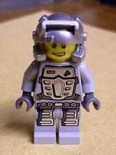 Lego Power Miner - Doc - silber grau - Minenarbeiter Miners Figuren Figur Neu