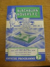 05/03/1963 Blackburn Rovers v Middlesbrough (folded). Thanks for viewing this i