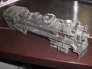 MARX LOCOMOTIVE O GAUGE TRAIN ENGINE 666 SHELL COVER CAST IRON