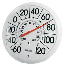 """Springfield Big & Bold 5 1/4"""" Dial Outdoor Thermometer 90100-000-000"""