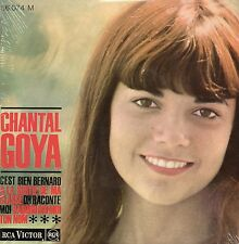 CD single Chantal GOYA C'est bien bernard 4-TRACK CARD SLEEVE NEW SEALED