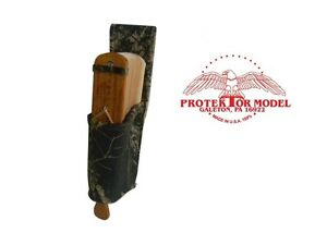 SMITH GAME CALLS NEW LEATHER TURKEY CALL BOX CALL HOLDER - MADE IN U.S.A.
