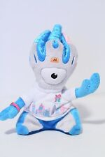 Olympics London 2012 Mandeville Mascot Plush Toy Doll