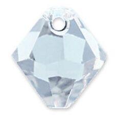 Swarovski Crystal TopDrillBicone LightSapphire  Color6mm. Approx24 PCS 6328-6301
