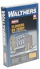 HO Scale Walthers Cornerstone 933-3473 Flowers by Terry, Florist Shop Kit