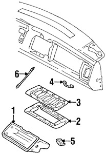 Genuine GM Strap 15590595
